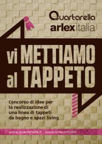Concorso di idee - Tappeti da bagno e spazi living: Un bando per architetti e designer di Puglia e Basilicata
